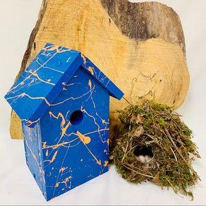 Handmade Hanging Birdhouse